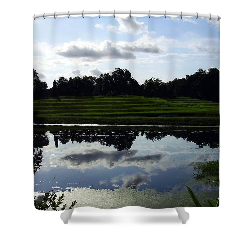 Middleton Place Shower Curtain featuring the photograph Middleton Place II by Flavia Westerwelle