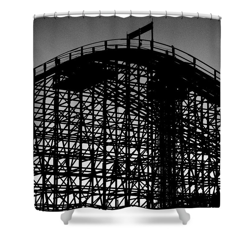 Still Life Shower Curtain featuring the photograph Midnight Ride by Edward Smith