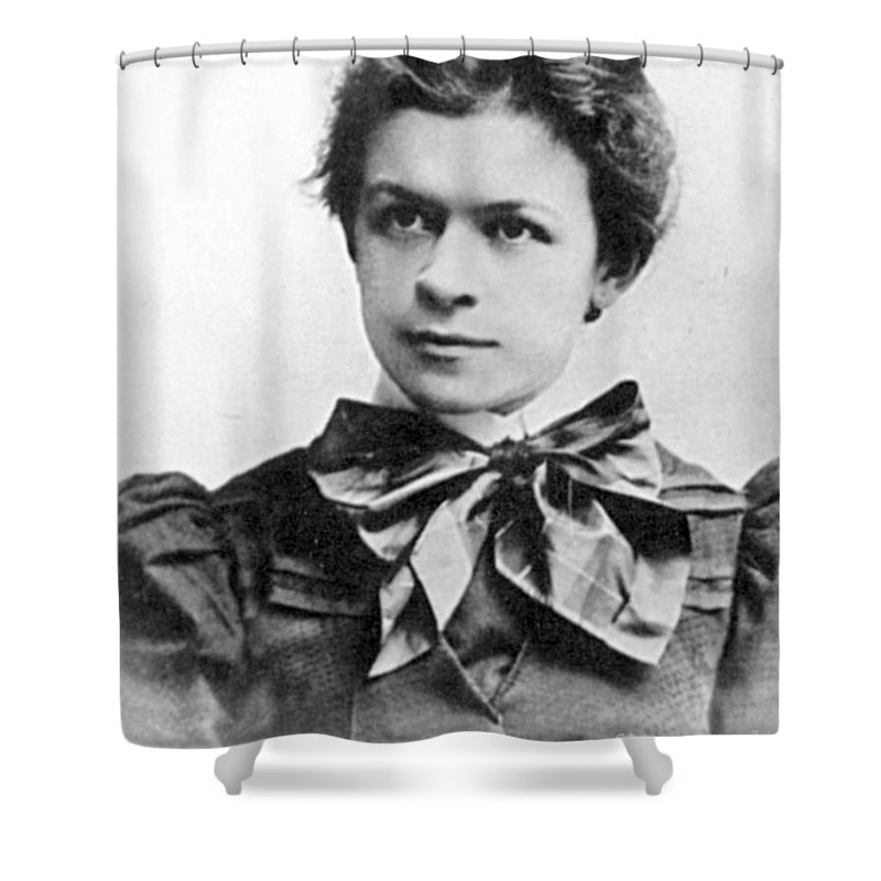 19th Century Shower Curtain featuring the photograph Mileva Maric (1875-1948) by Granger