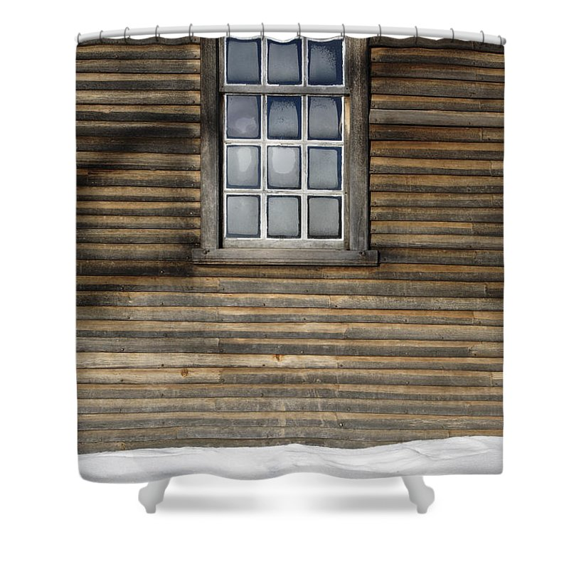 Window Shower Curtain featuring the photograph Minute Man National Historical Park In Lincoln Massachusetts Usa by Erin Paul Donovan