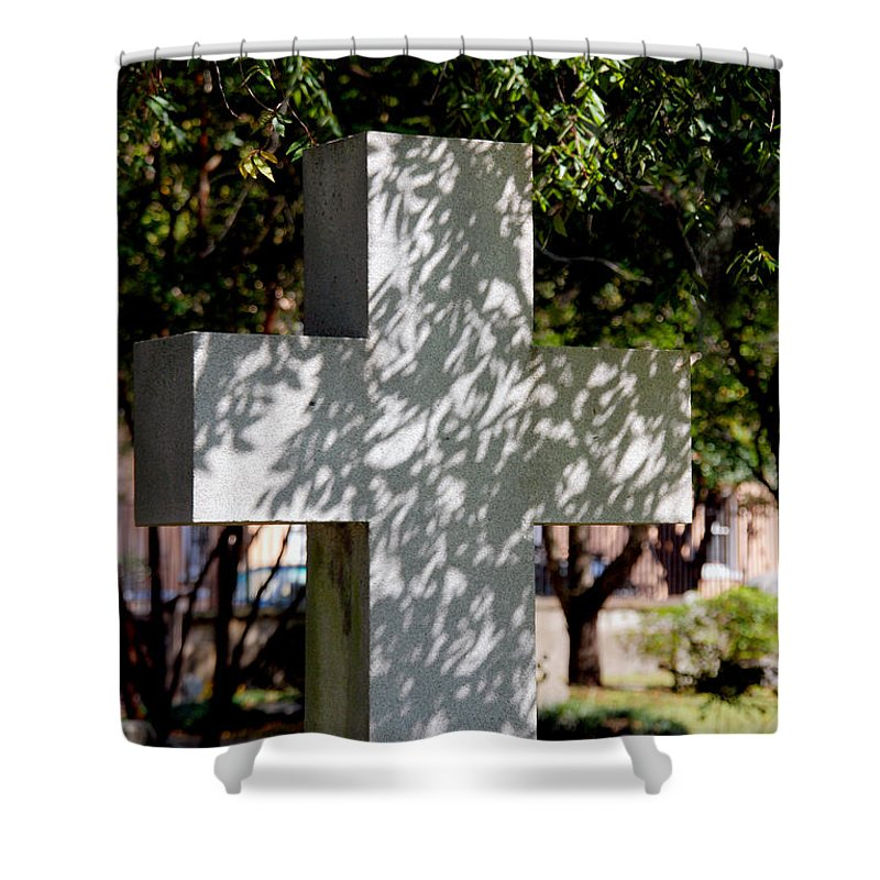 Photography Shower Curtain featuring the photograph Miss You So Much by Susanne Van Hulst