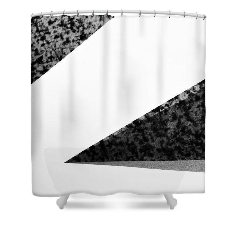 Modern Shower Curtain featuring the photograph Modern Art 3 by Shawn Brandon