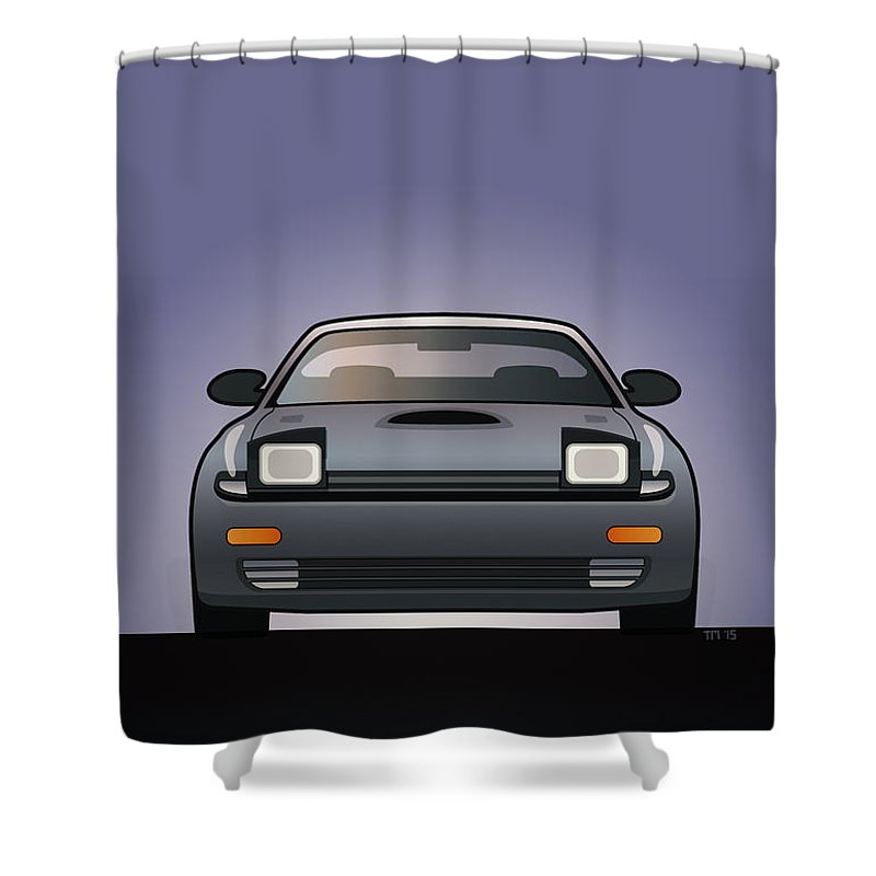 Modern Japanese Icons Series Toyota Celica Gt-four All-trac Turbo St185  Shower Curtain