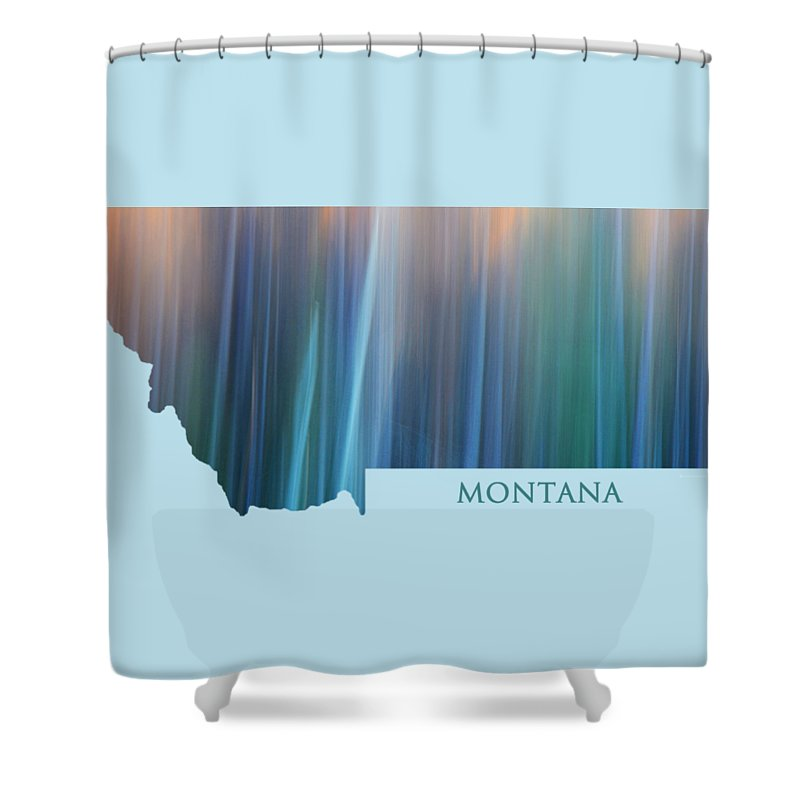 Montana Shower Curtain featuring the photograph Montana In Pastel by Whispering Peaks Photography