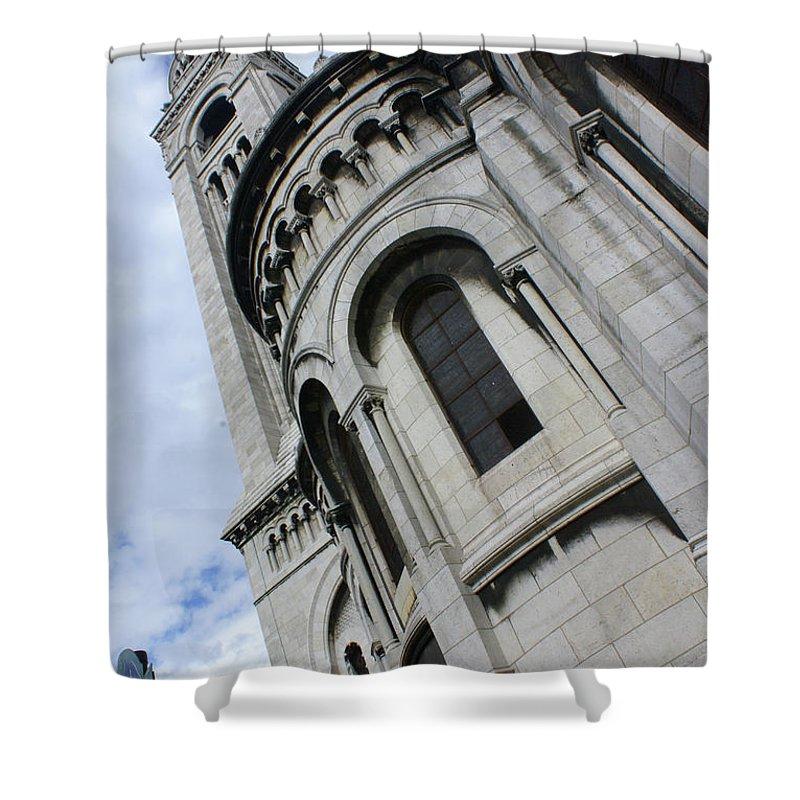 Montmatre Church Paris France Shower Curtain featuring the photograph Montmatre by Daniel Klein