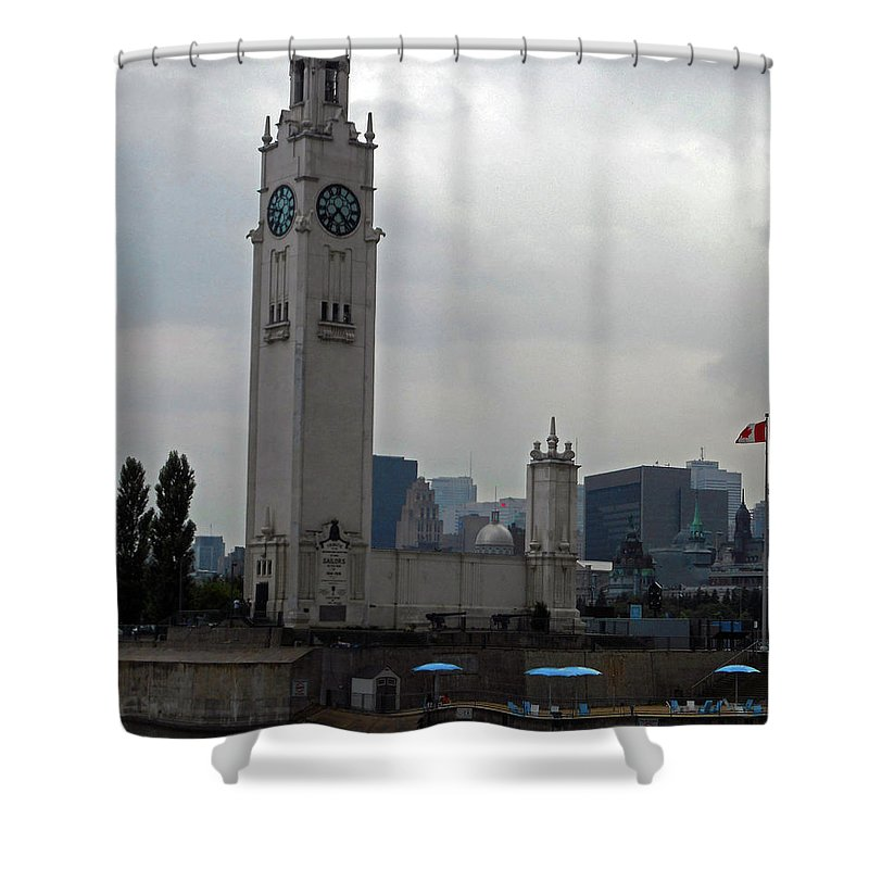 Montreal Shower Curtain featuring the photograph Montreal 15 by Ron Kandt