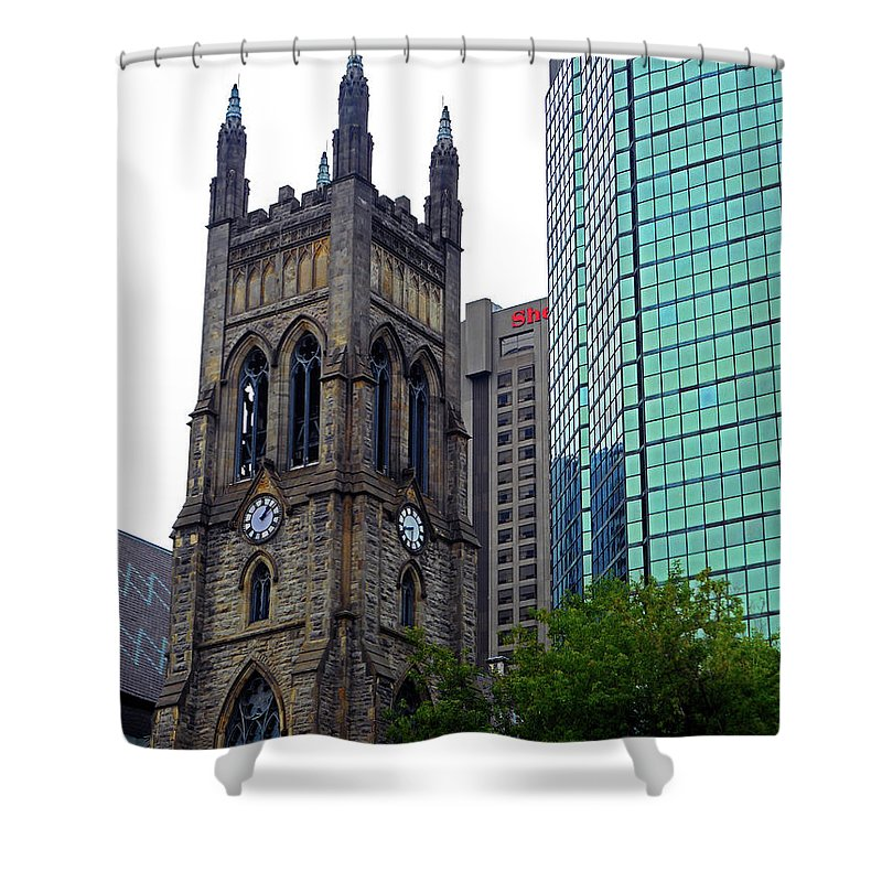Montreal Shower Curtain featuring the photograph Montreal 26 by Ron Kandt