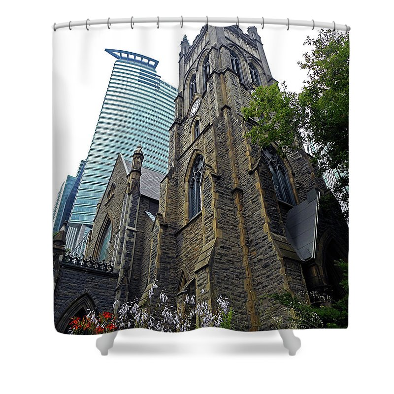 Montreal Shower Curtain featuring the photograph Montreal 27 by Ron Kandt