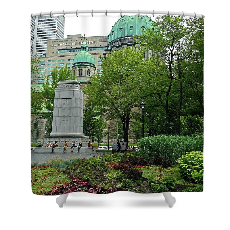Montreal Shower Curtain featuring the photograph Montreal 28 by Ron Kandt