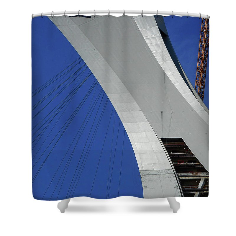 Montreal Shower Curtain featuring the photograph Montreal 4 by Ron Kandt