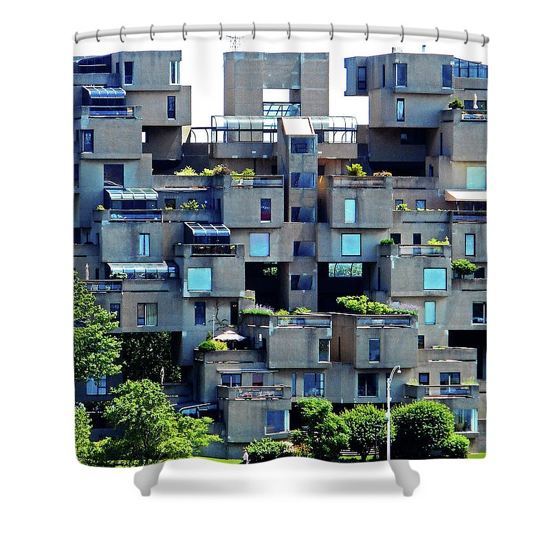 Montreal Shower Curtain featuring the photograph Montreal 42 by Ron Kandt
