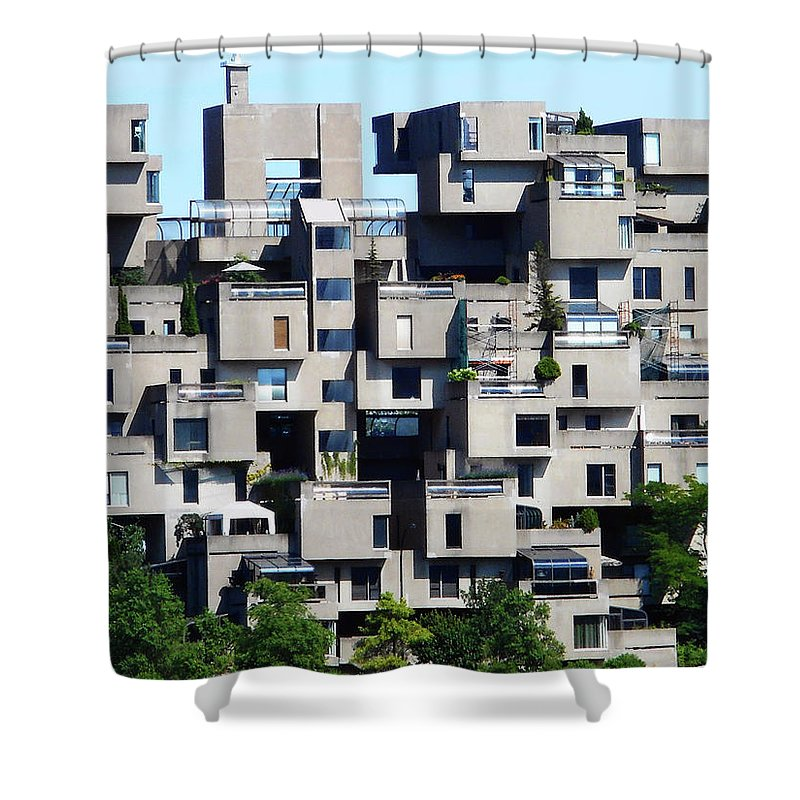 Montreal Shower Curtain featuring the photograph Montreal 44 by Ron Kandt
