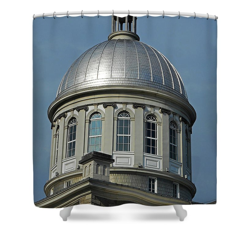 Montreal Shower Curtain featuring the photograph Montreal 8 by Ron Kandt