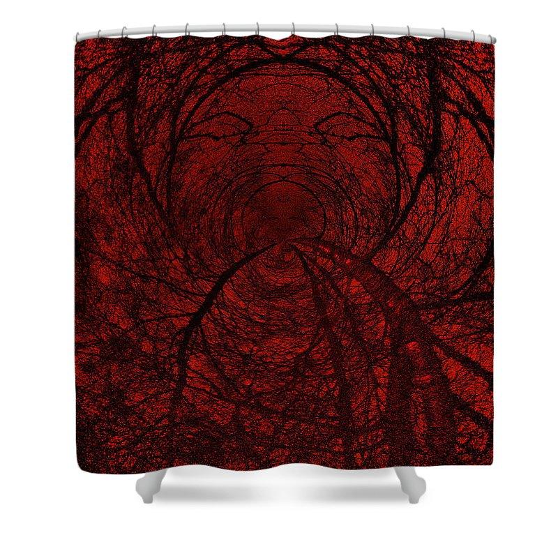 Lehtokukka Shower Curtain featuring the photograph Moonshine 18 Shout by Jouko Lehto