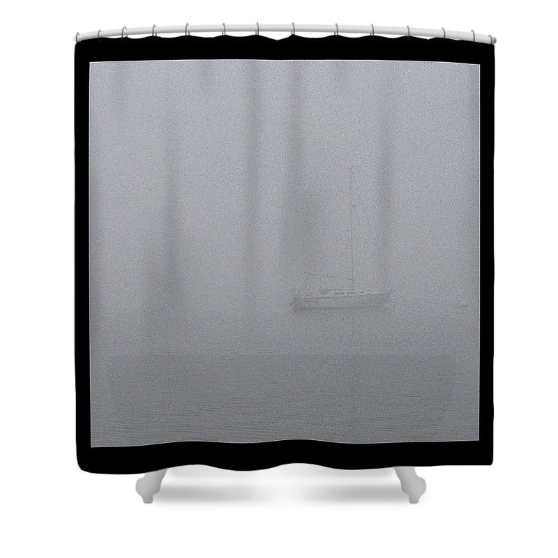 Moored Shower Curtain featuring the photograph Moored by Tim Nyberg