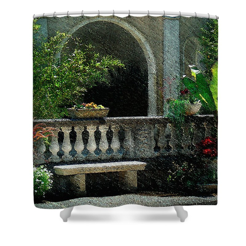 Impressionistic Shower Curtain featuring the photograph Morning Bliss by Gordon Beck