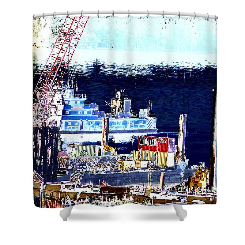 Abstract Shower Curtain featuring the photograph Morning Blooms by Rachel Christine Nowicki