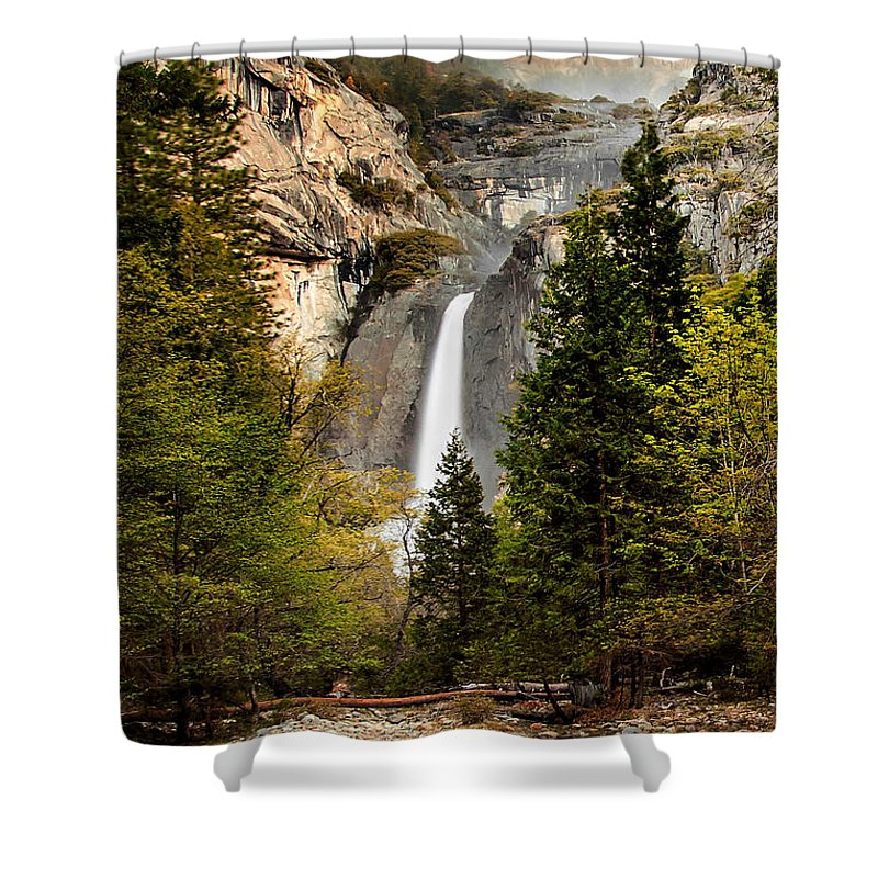 Yosemite National Park Shower Curtain featuring the photograph Morning Delight by Az Jackson