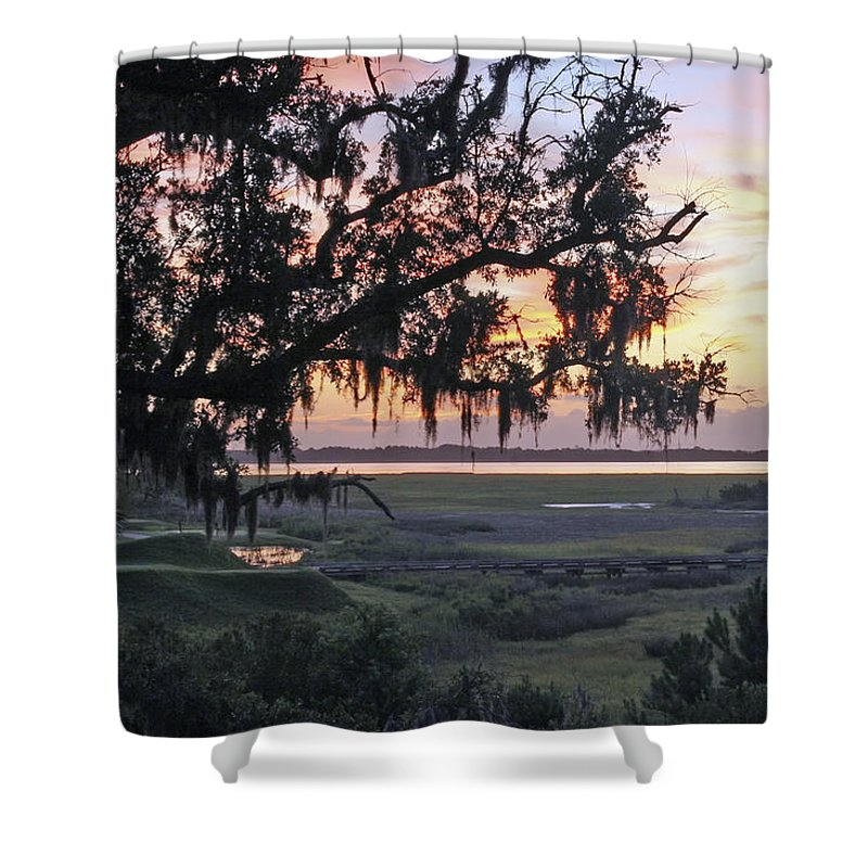 Sunrise Shower Curtain featuring the photograph Morning Glory by Phill Doherty