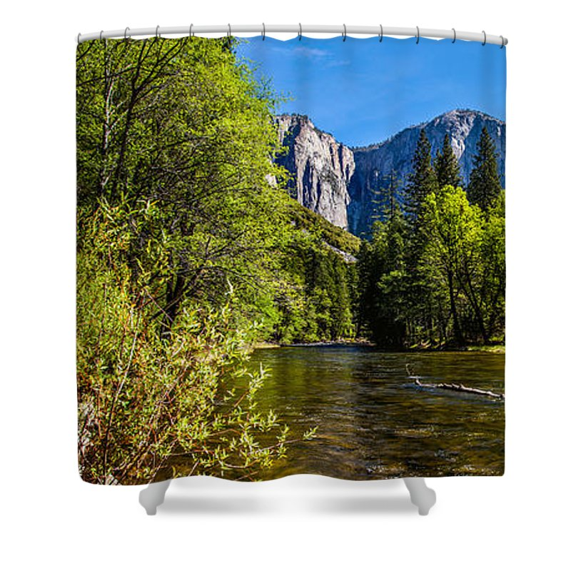 Yosemite National Park Shower Curtain featuring the photograph Morning Inspirations 1 Of 3 by Az Jackson