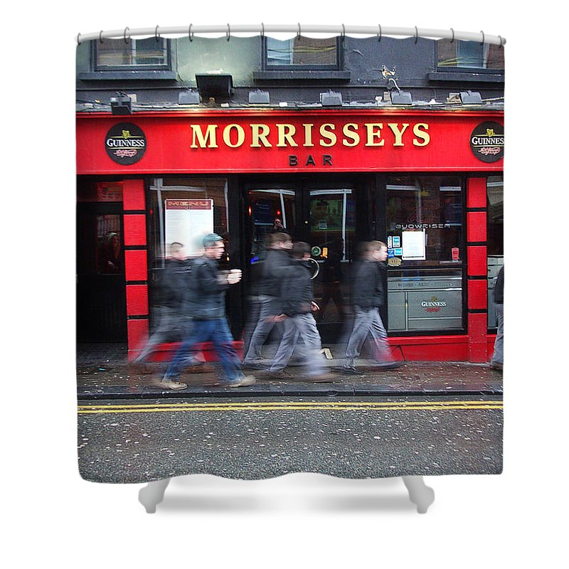 Pub Shower Curtain featuring the photograph Morrissey by Tim Nyberg