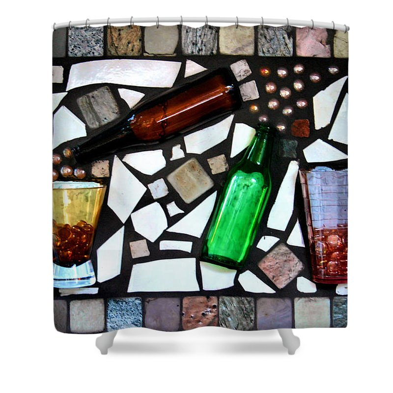 Mosaic Shower Curtain featuring the photograph Mosaic by Kristin Elmquist