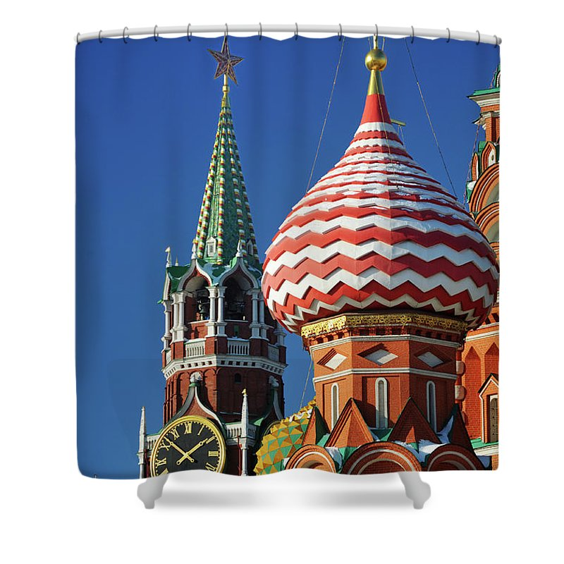 Moscow Shower Curtains