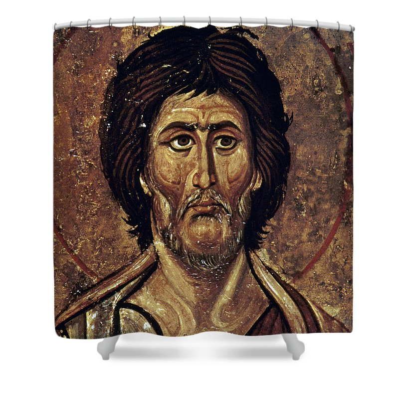 13th Century Shower Curtain featuring the photograph Moses by Granger