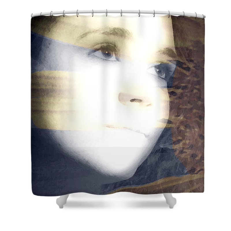 Modern Shower Curtain featuring the photograph Mother Nature by Amanda Barcon