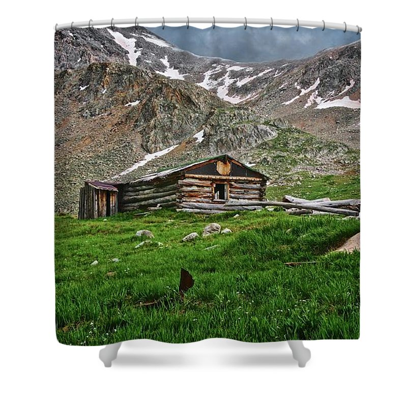 Nature Shower Curtain featuring the photograph Mother Nature's Reclamation Process, by Zayne Diamond Photographic