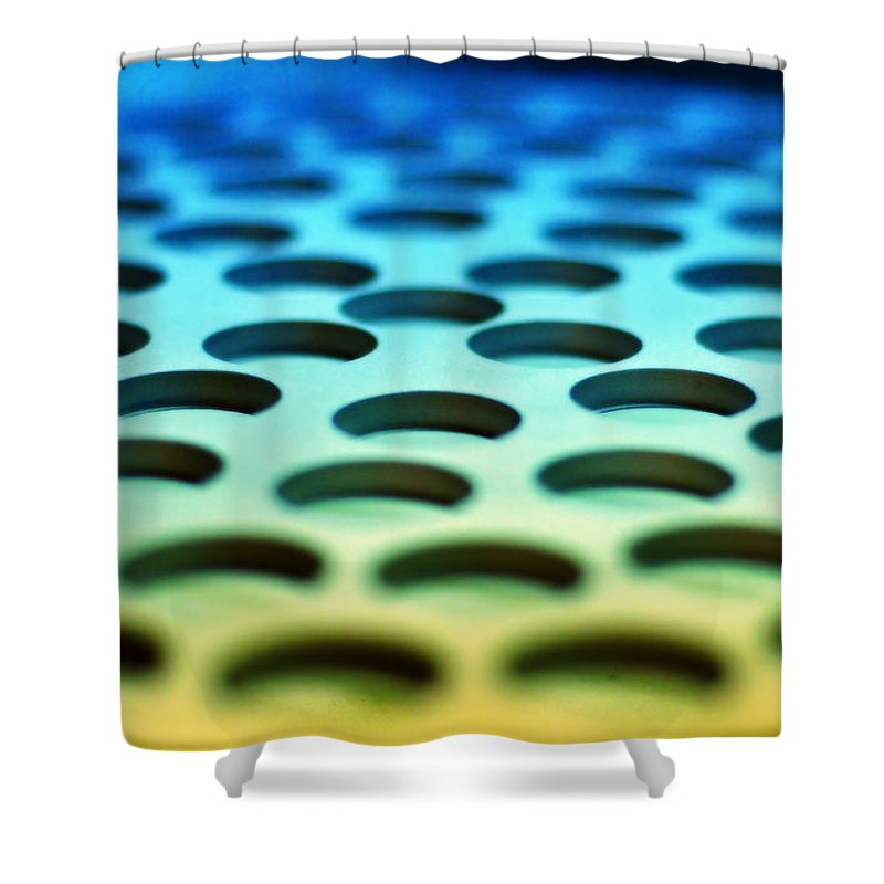 Industrial Shower Curtain featuring the photograph Mothership by Skip Hunt