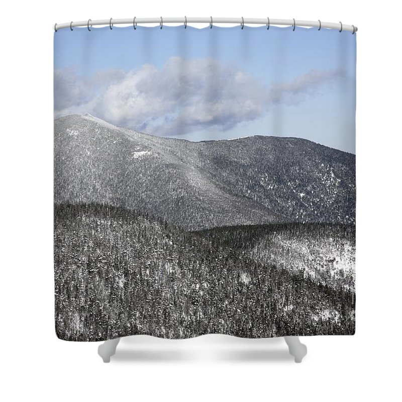 Hike Shower Curtain featuring the photograph Mount Carrigain - White Mountains New Hampshire Usa by Erin Paul Donovan
