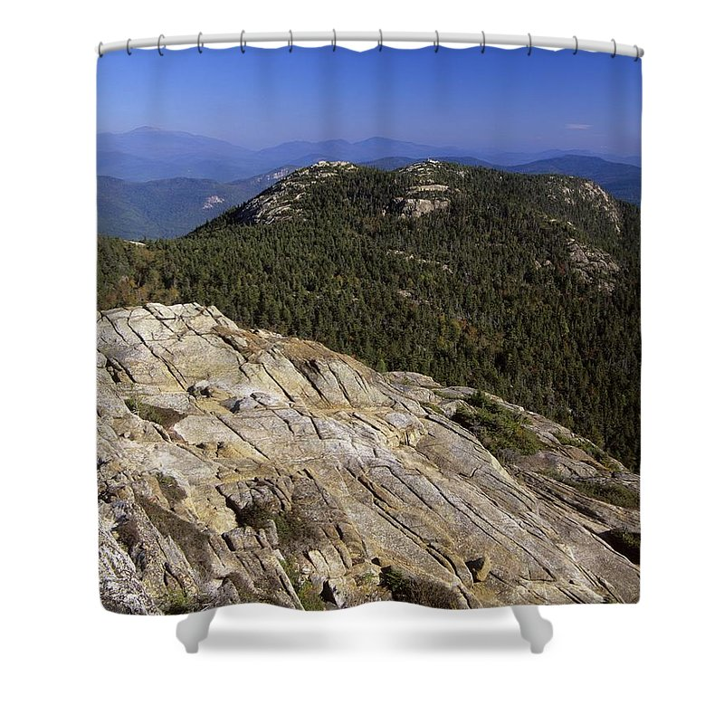 White Mountains Shower Curtain featuring the photograph Mount Chocorua - White Mountains New Hampshire Usa by Erin Paul Donovan