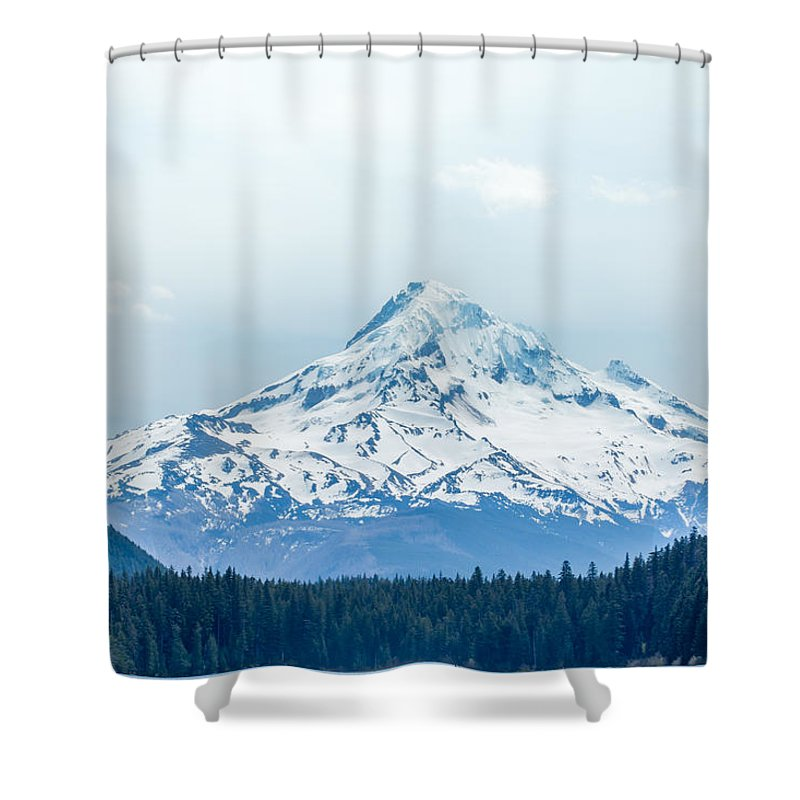 Landscape Shower Curtain featuring the photograph Mount Hood by Heather Raeburn