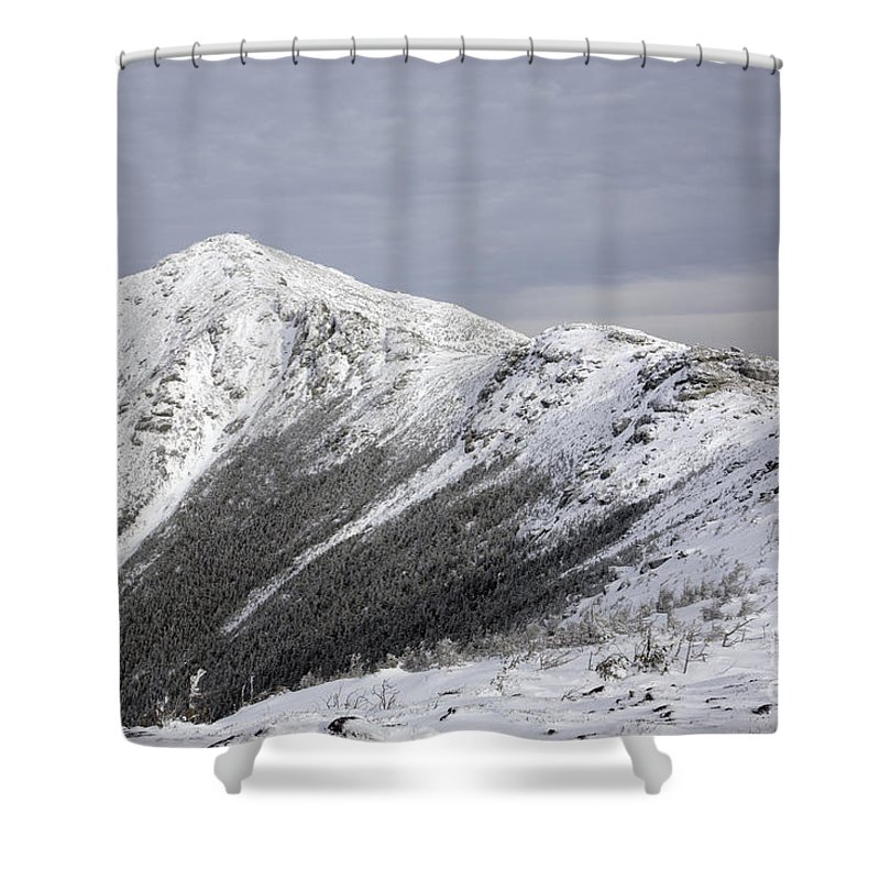 Climb Shower Curtain featuring the photograph Mount Lincoln From The Appalachain Trail - White Mountains Nh Usa by Erin Paul Donovan