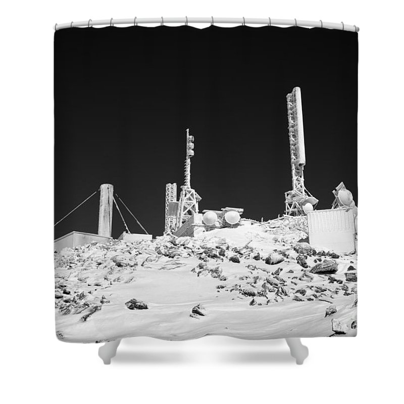 Hike Shower Curtain featuring the photograph Mount Washington State Park - White Mountains New Hampshire Usa by Erin Paul Donovan