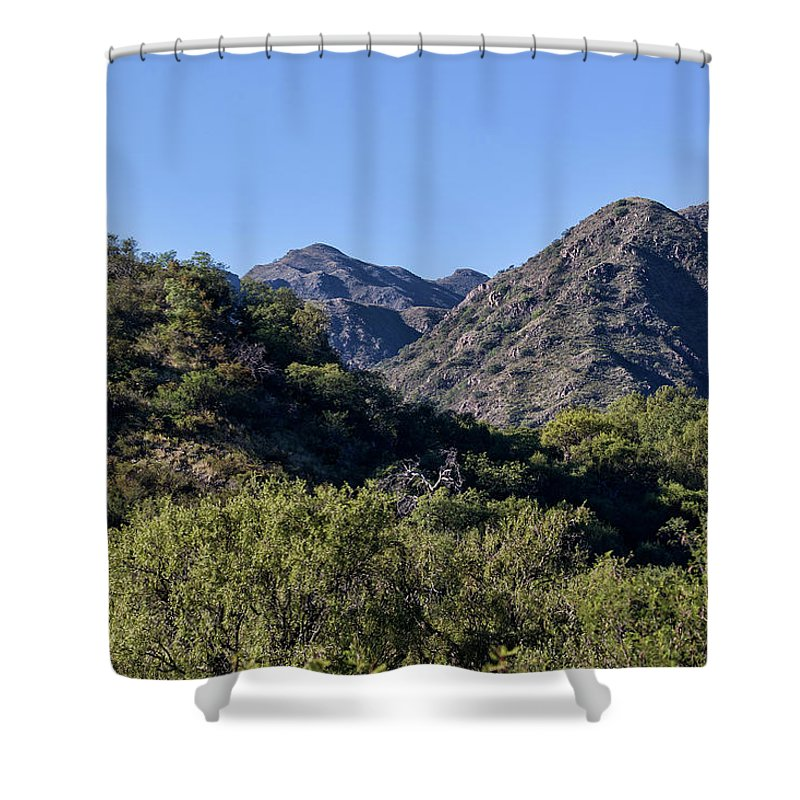 Mountains Shower Curtain featuring the photograph Mountains In Cordoba, Argentina by Pablo Rodriguez Merkel
