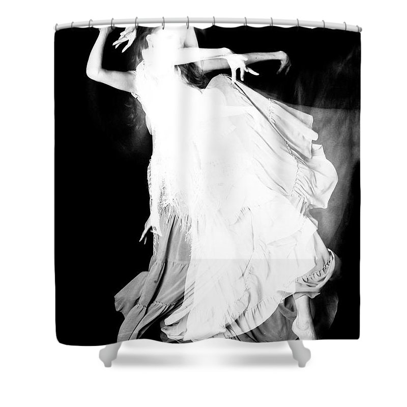 Dance Shower Curtain featuring the photograph Movement by Scott Sawyer