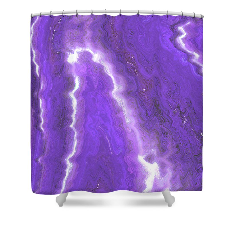 Moveonart! Digital Gallery Shower Curtain featuring the digital art Moveonart Adjusting To Changes I by Jacob Kanduch