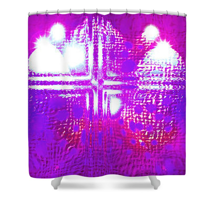 Moveonart! Digital Gallery Shower Curtain featuring the digital art Moveonart Eternal Royal Provision by Jacob Kanduch