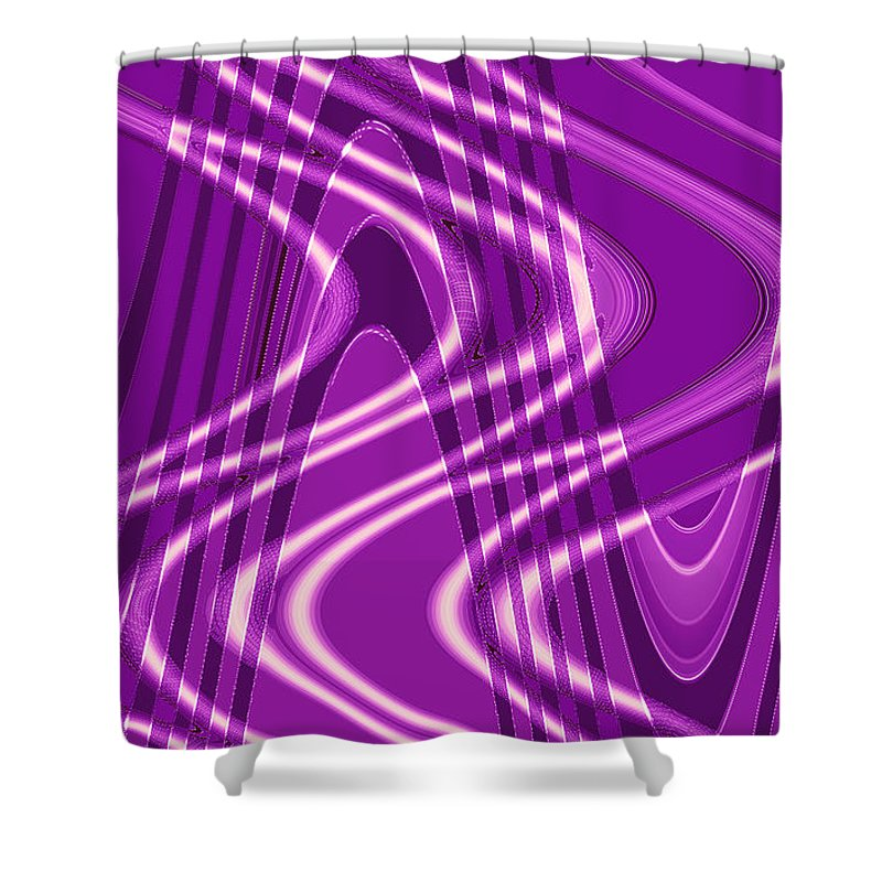 Moveonart Digital Gallery San Francisco California Lower Nob Hill Jacob Kane Kanduch Shower Curtain featuring the digital art Moveonart Jacobs Gift 1 by Jacob Kanduch