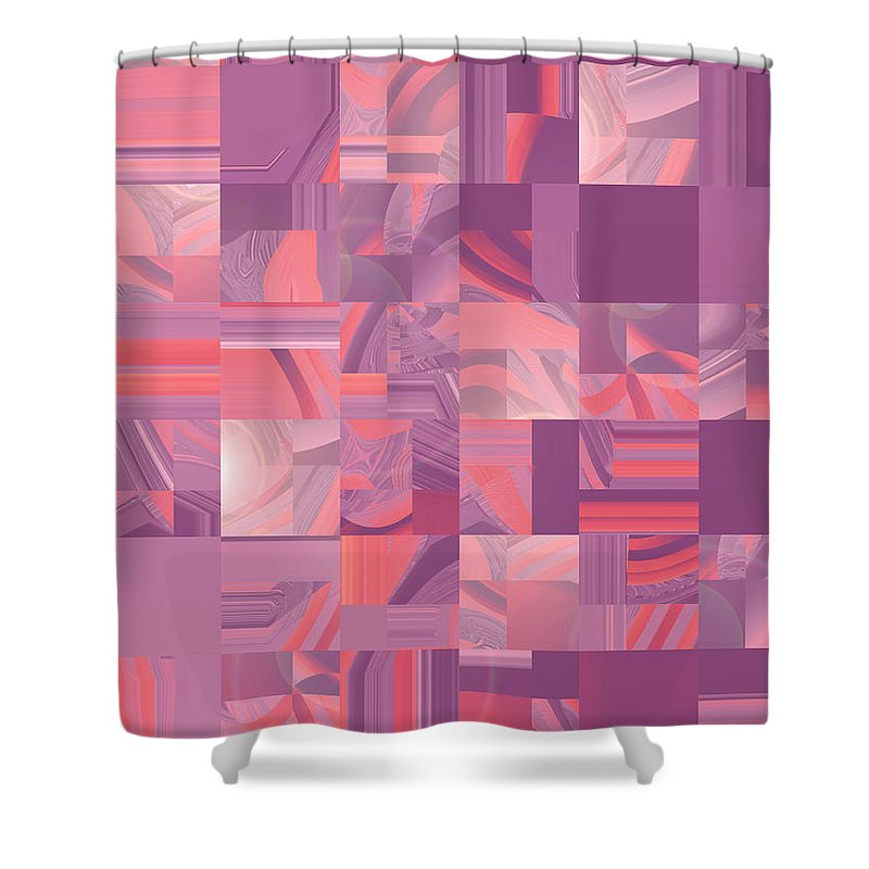 Moveonart Digital Gallery San Francisco California Lower Nob Hill Jacob Kane Kanduch Shower Curtain featuring the digital art Moveonart Midwest Memories 1 by Jacob Kanduch
