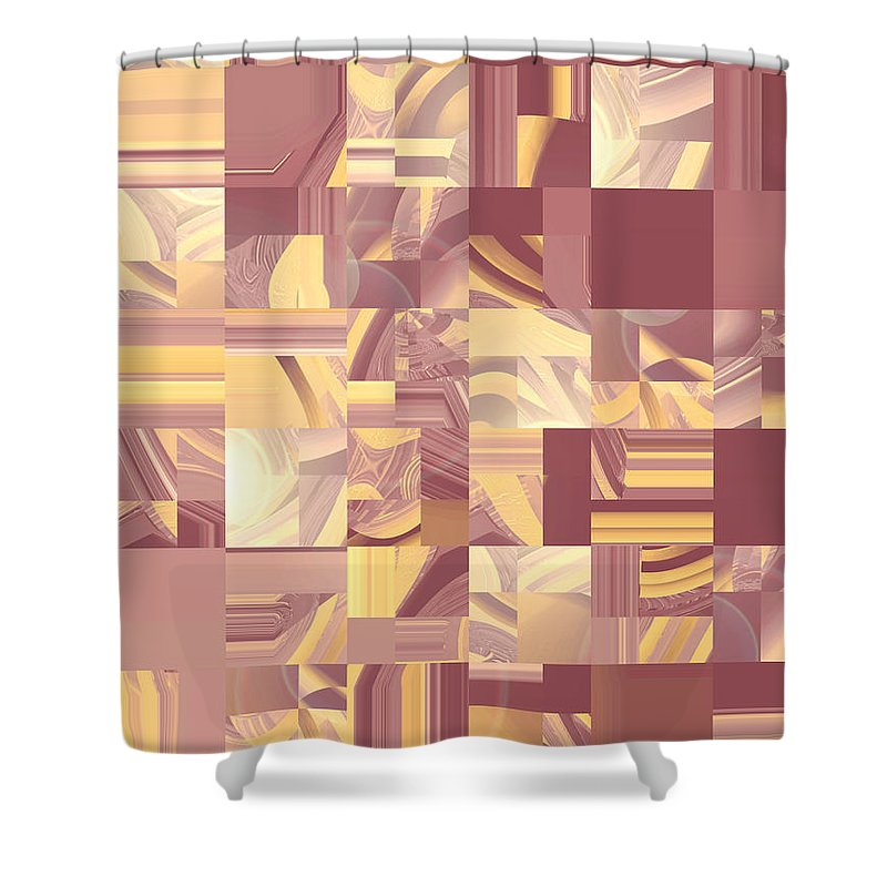 Moveonart Digital Gallery San Francisco California Lower Nob Hill Jacob Kane Kanduch Shower Curtain featuring the digital art Moveonart Midwest Memories 2 by Jacob Kanduch