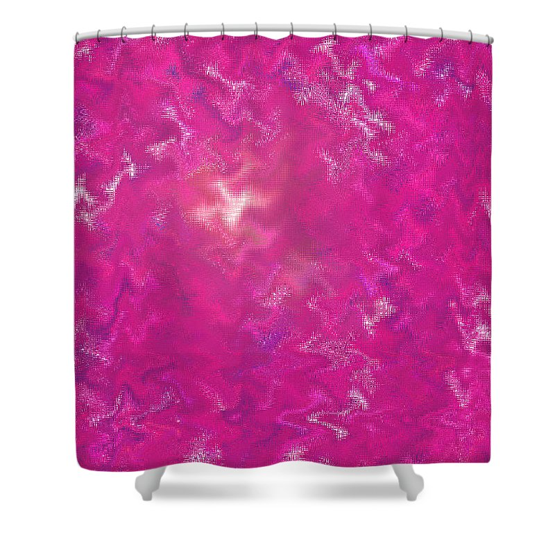 Moveonart Digital Galllery Lower Nob Hill San Francisco California Jacob Kanduch Shower Curtain featuring the digital art Moveonart Now Series1 by Jacob Kanduch