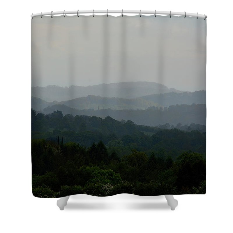 Landscape Shower Curtain featuring the photograph Mr by Dave Daniel
