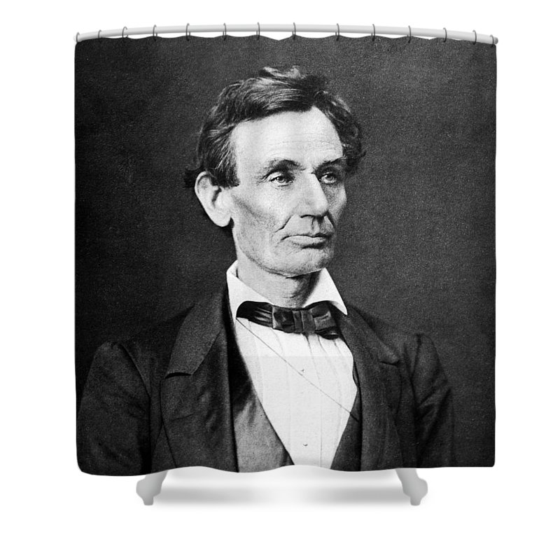 Lincoln Photographs Shower Curtains