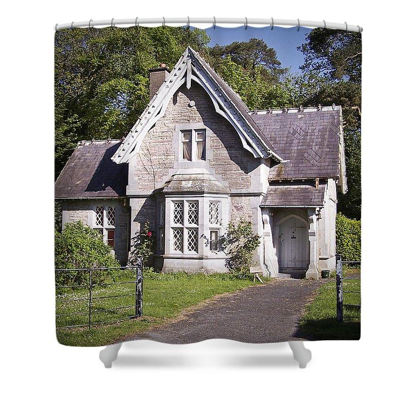 Irish Shower Curtain featuring the photograph Muckross Cottage Killarney Ireland by Teresa Mucha