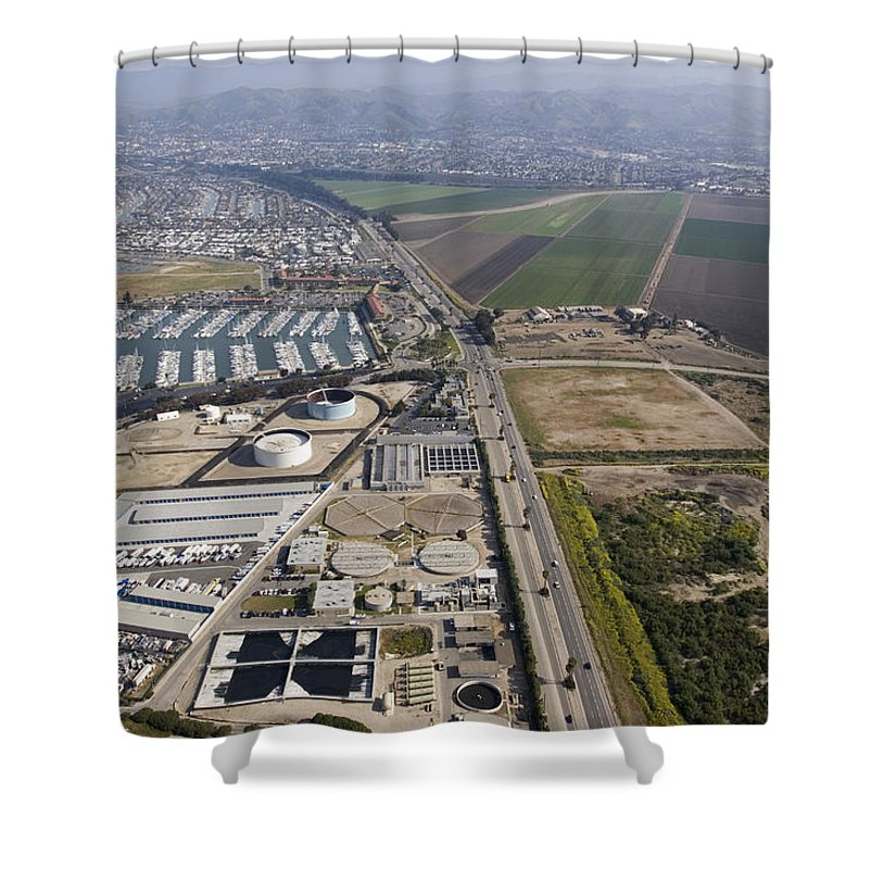 Multi Use Shower Curtain featuring the photograph Multi Use Of Coastal Property by Rich Reid