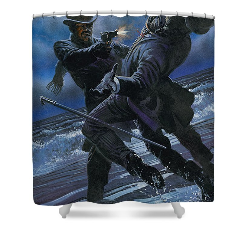 Murder Shower Curtain For Sale By Oliver Frey