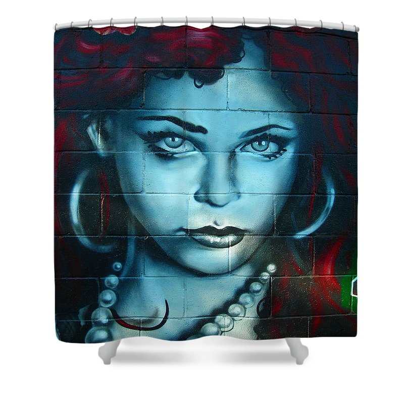 Paint Shower Curtain featuring the photograph My Lady ... by Juergen Weiss